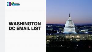 Washington DC Email List