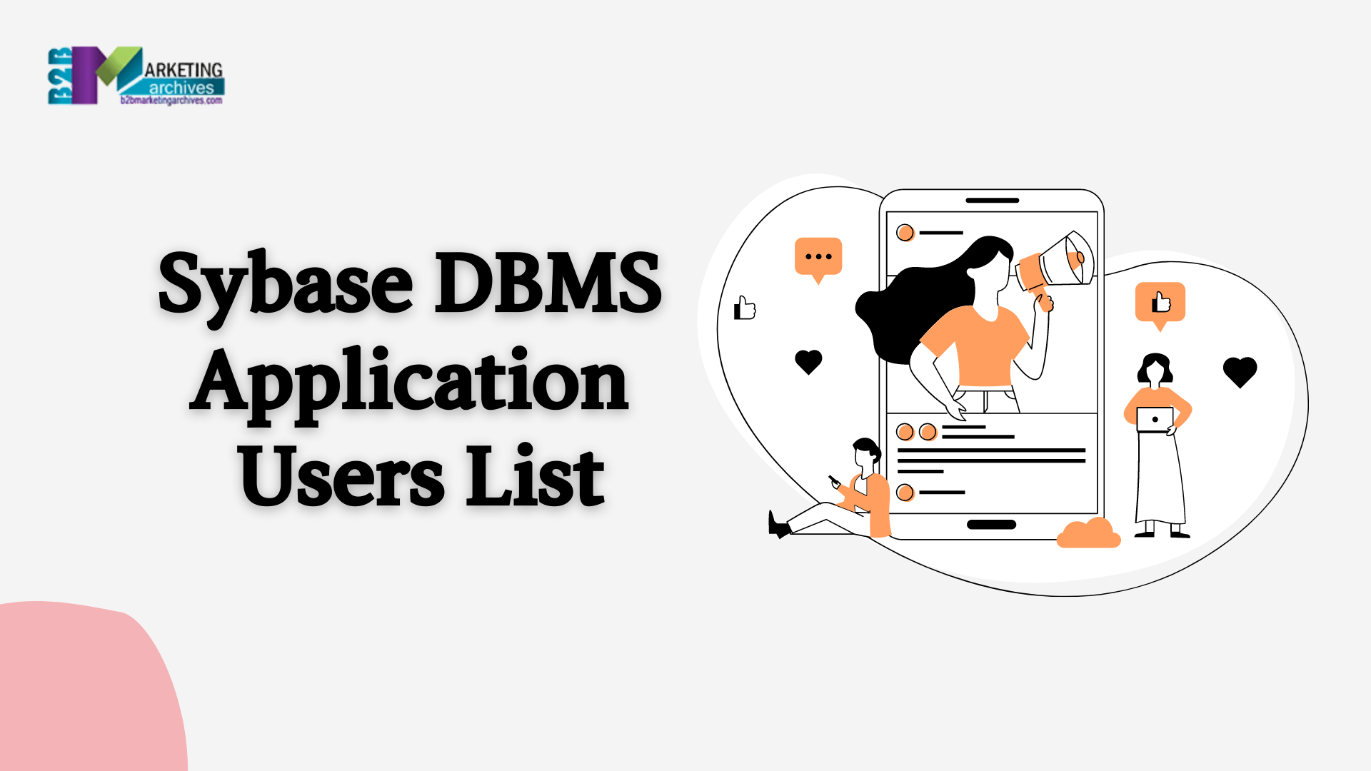 Sybase DBMS Application Users List
